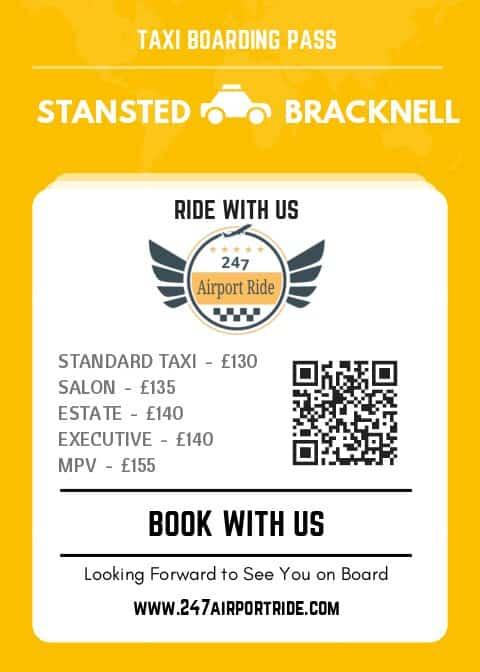 stansted to bracknell price