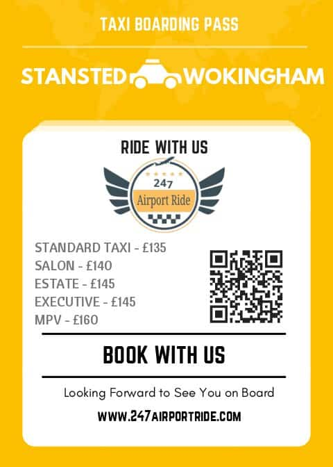 stansted to wokingham price
