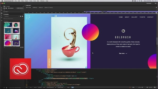 Image result for Adobe Dreamweaver