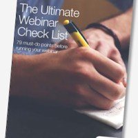 Whitepaper: The Ultimate Webinar Check List