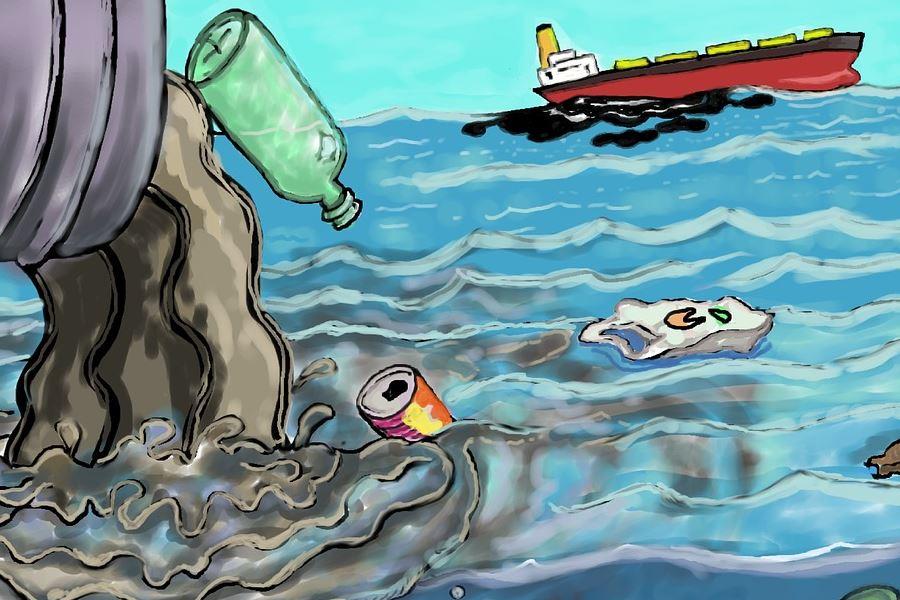 Butelki plastikowe i inne opakowania.