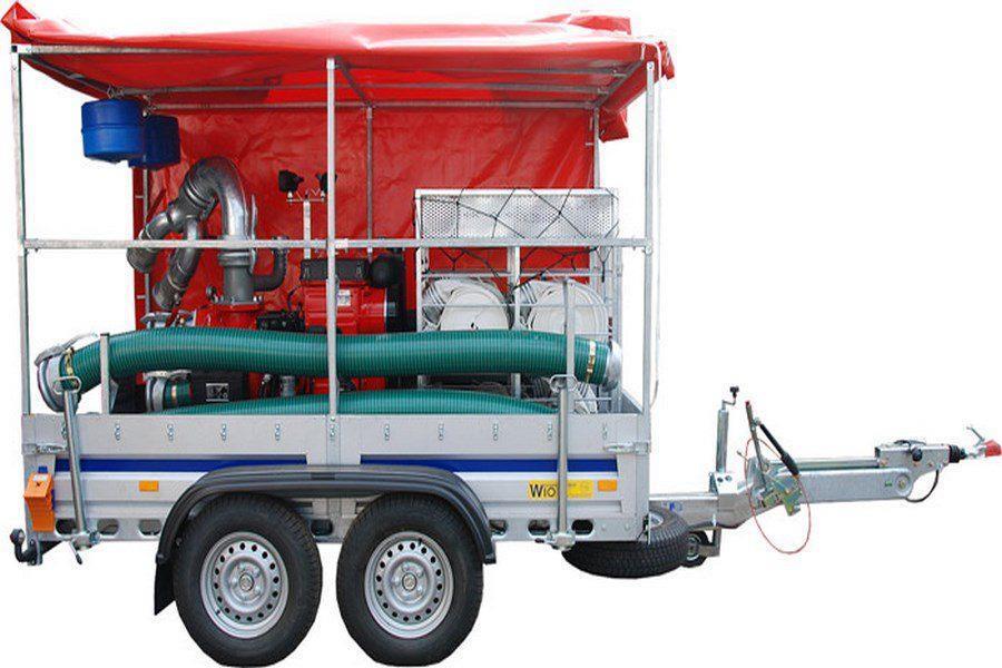 Motopompa dla jednostek straży pożarnej