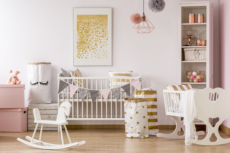 Babykamer Ideeen Blauw : De babykamer trends van naturel exotisch tot unicorn glow