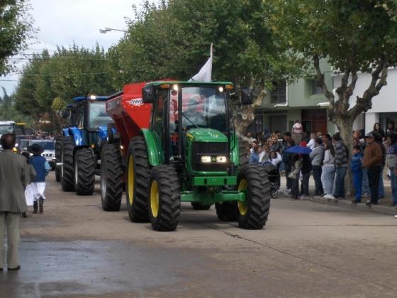fiesta papa desfile