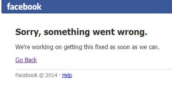 falla facebook