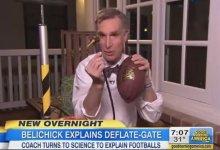 Photo of Bill Nye Says Belichick's 'Deflategate' Explanation Doesn't Make Any Sense