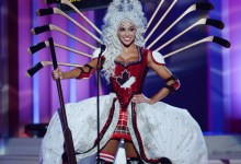 Photo of Miss Canada's Hockey-Themed Miss Universe Costume Is Totally Bonkers