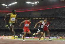 Photo of Usain Bolt wins at the IAAF World Championship