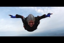 Photo of 82 Year Old Sky Dives for Sport
