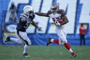 Buc's RB Martin suspended