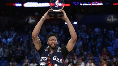 Photo of Gordon Flops in Dunk Contest, Anthony Davis Breaks Record in All Star Game
