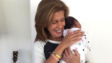 Photo of 'Today' show anchor Hoda Kotb adopts baby girl