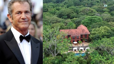 Photo of Mel Gibson's Jungle Vacation Home