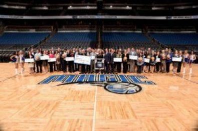 The Orlando Magic Youth Foundation Donates over a Million dollars