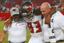 Photo of Bucs Lose Key Rookie Receiver Because of Wet Field