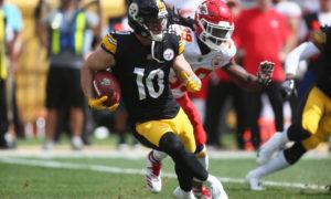 Steelers WR Ryan Switzer starts 'Reception Challenge' after mean tweet