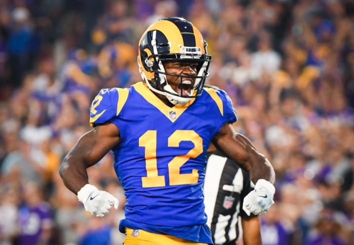 Rams WR Brandin Cooks arranged for team custodian, son to attend Super Bowl