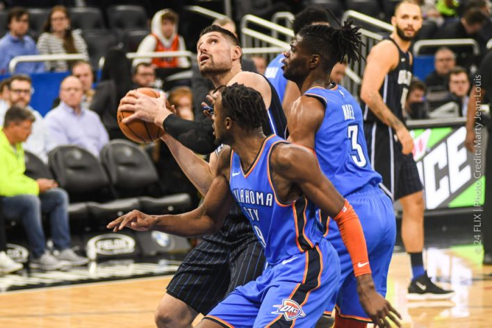 Paul George and the Thunder roll over Magic 126-117