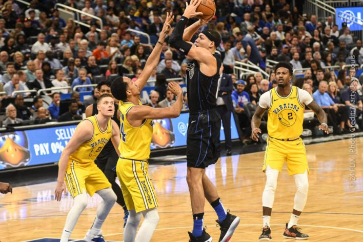 Orlando Magic Beat Warriors 103-96, Slide into 8th playoff spot.