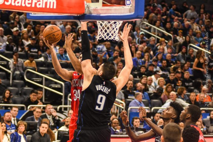 Magic crush Pelicans 119-96 to continue playoff push
