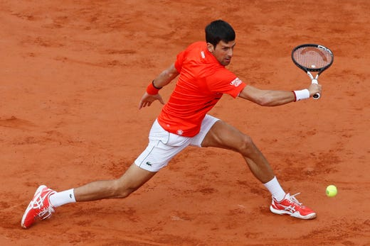 Dominic Thiem upsets top-seed Novak Djokovic to reach second consecutive French Open final