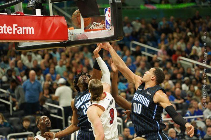 The Magic Stun the Miami Heat 105-85