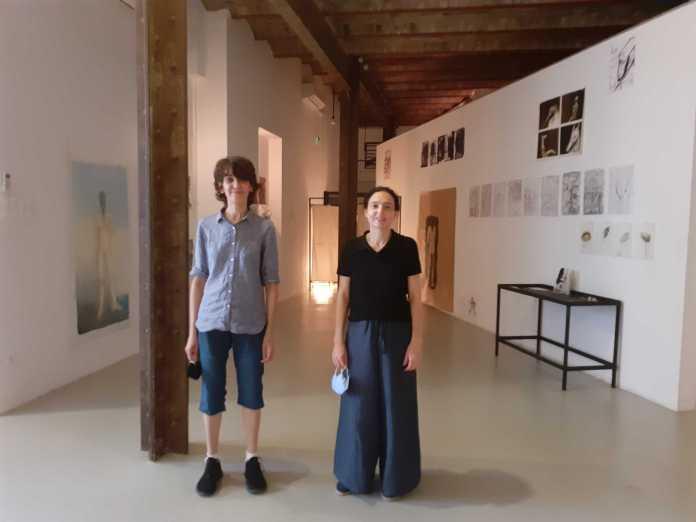 Nawel Louerrad bédéiste, et Fella Tamzali Tahari artiste peintre