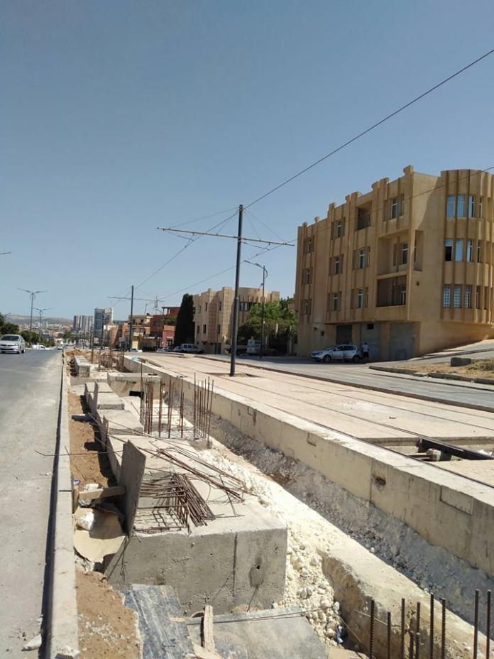 Tramway de la ville de Mostagnem