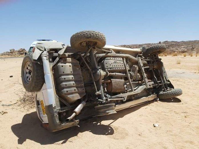 20 décès et 11 blessés dans un accident à Tamanrasset