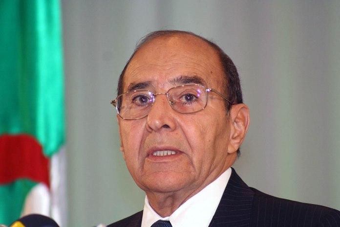 Décès de Nourredine Yazid Zerhouni à l'âge de 83 ans