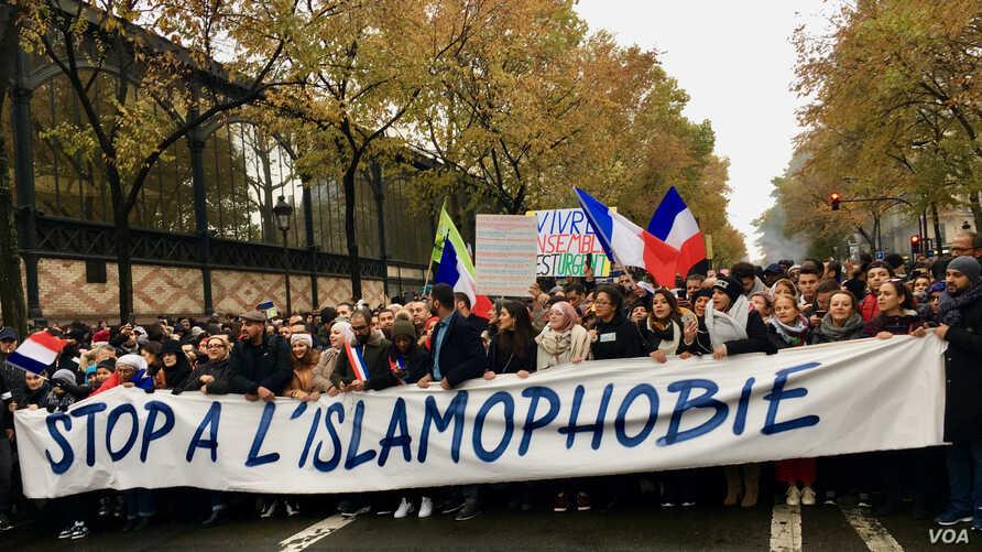 """Dissolution du CCIF: la France """"sur la voie du délit d'opinion"""" (ONG)"""