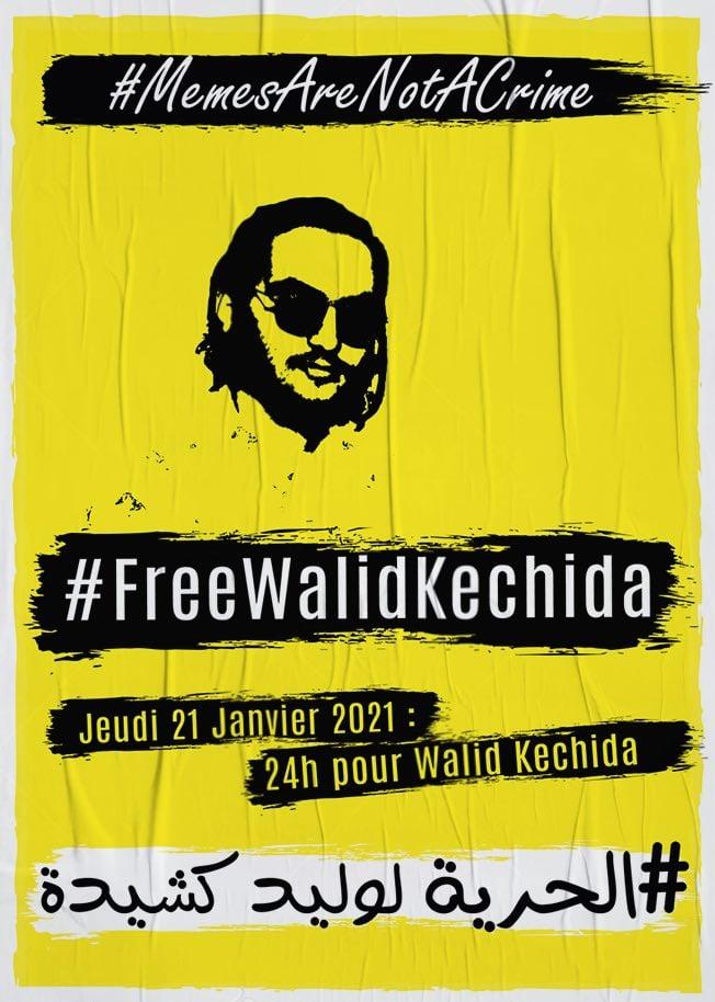 Une journée de solidarité avec Walid Kechida