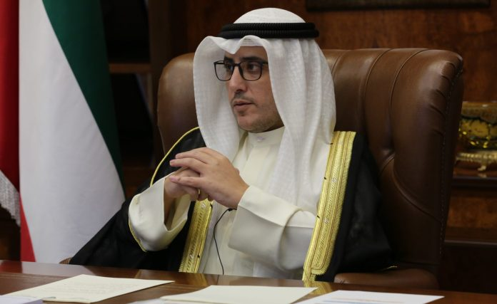 Cheikh Ahmed Nasser Al-Sabah, ministre des Affaires étrangères du Koweït