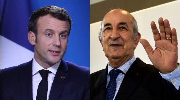 Tebboune reçoit un appel de Macron (Présidence)