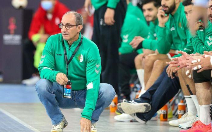 Le sélectionneur de l'équipe algérienne de handball, Alain Portes, veut