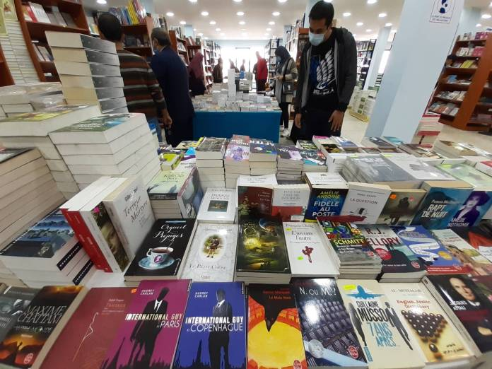 Le salon national du livre en mars à Alger