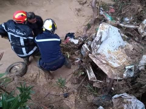 Crue de l'Oued Meknassa à Chlef: le bilan s'alourdit à 6 morts