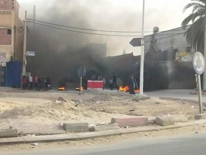 Nuit d'émeutes à Ouargla après la condamnation de Ameur Guerrache