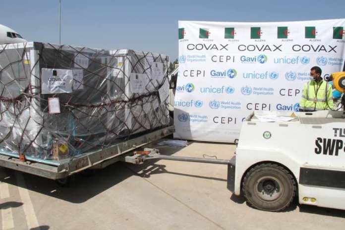 Coronavirus: 758.400 doses de vaccins réceptionnés par l'Algérie