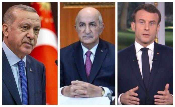 Tebboune reçoit des appels téléphoniques de Macron et Erdogan