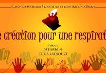 """""""Une création pour une respiration"""", l'initiative solidaires des artistes et artisans algériens"""