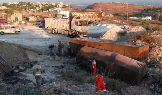 L'explosion d'une citerne d'essence au Liban fait au moins 20 morts