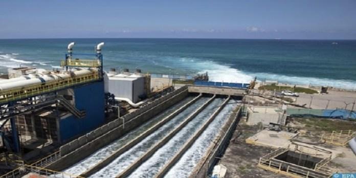 Alger : livraison, le 19 août, de la station de dessalement d'eau de mer de Palm Beach