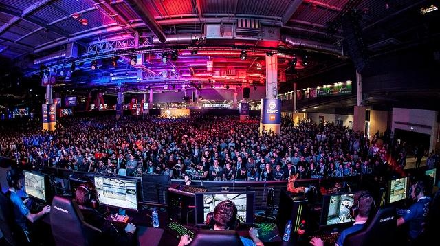La compétition mondiale de sport électronique