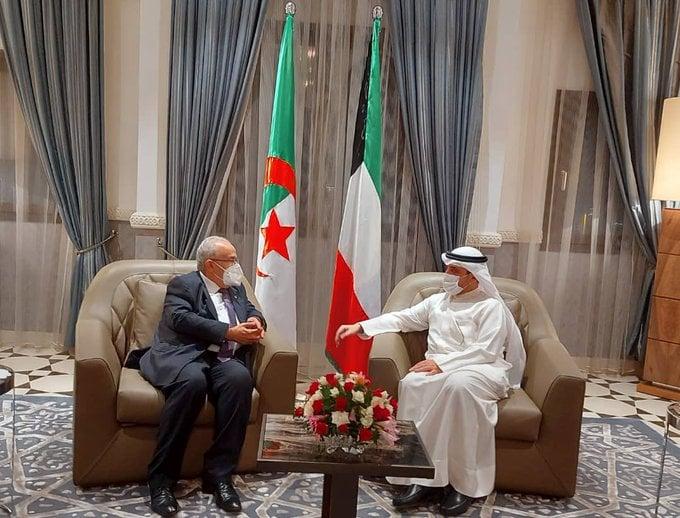 Entretiens bilatéraux entre Ramtane Lamamra et son homologue koweïtien