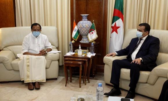 New Delhi exprime de l'intérêt pour les projets miniers en Algérie