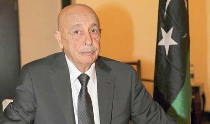 Président du parlement libyen :