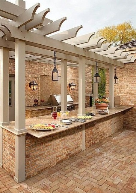 Top 15 Outdoor Kitchen Design And Decor Ideas Plus Costs Diy Home Improvements Home
