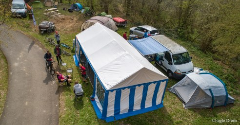 Un stand camping