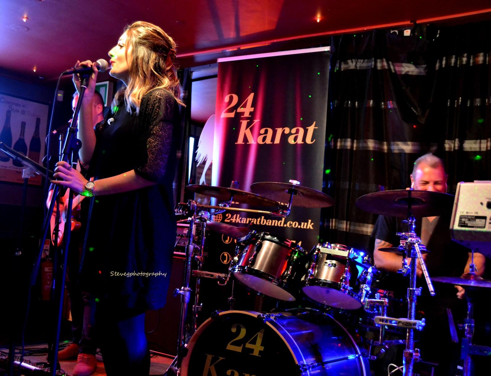 Live band 24 Karat Colchester Essex